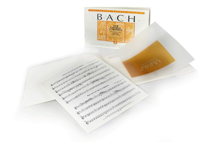 Bach-Choräle Trompete und Orgel