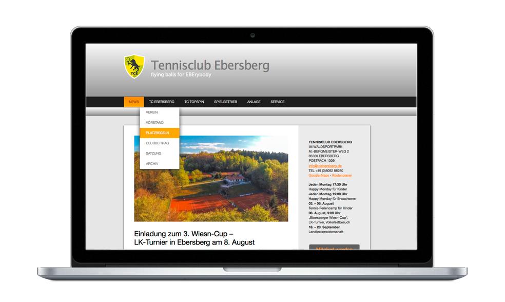TC Ebersberg Startseite