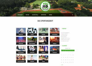 Website TSV Ebersberg